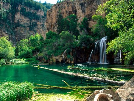 Hanging Lake - Glenwood Canyon, Colorado - colorado, glenwood canyon, waterfall, hanging lake
