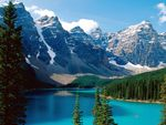 Moraine Lake - Banff National Park - Canada