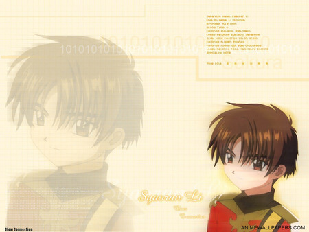 Untitled Wallpaper - syaoran, movie 2