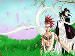 Renji and Byakuya