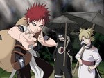 Gaara, Temari, Kenkuro Of The Hidden Sand Village
