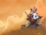 Okami in Pandaland