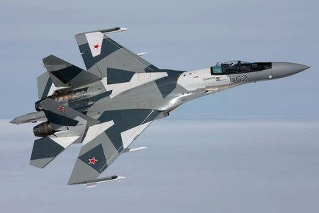 Sukhoi Su-35 - su 35, russian air force, jet fighter, sukhoi