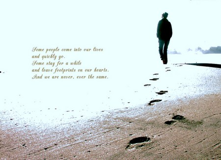 WALKING ON THE BEACH Quotes Like Success