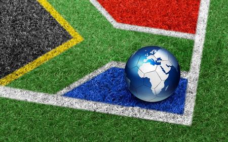 Fifa Soccer 2010 - world, grass, green, fifa, abstract, soccer