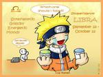 Chibi Naruto Horoscopes Libra