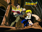 Zatch Bel and Kiyo Takamine