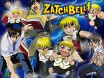 Zatch Bel and Kiyo Takamine different Poses