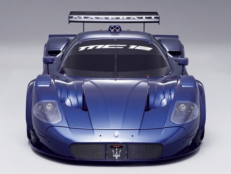 Maserati MC12 Corsa - car, corsa, blue, maserati, mc12