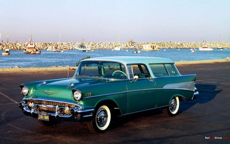 1957 Nomad - chevy, 1957, nomad, car
