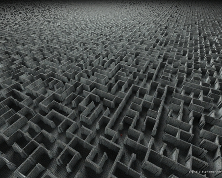 endless maze - 3D and CG & Abstract Background Wallpapers on Desktop Nexus (Image 408383)