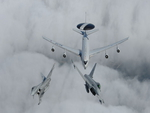 EF2000 Typhoon with NATO AWACS