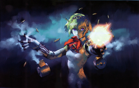 Aegis Persona 3 - robot, android, rpg, aegis, ps2, playstation, persona, girl, anime, great, atlus, 3