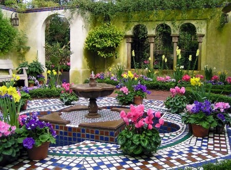 Exclusive Garden Houses Architecture Background Wallpapers On