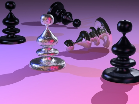 Chess Pieces - 3d, chess pieces, game, funny, other