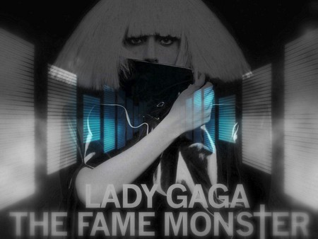 Lady GaGa The Fame Monster - album cover, lady gaga, music, the fame monster