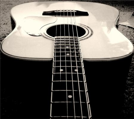 Acoustic Guitar Music Entertainment Background Wallpapers On