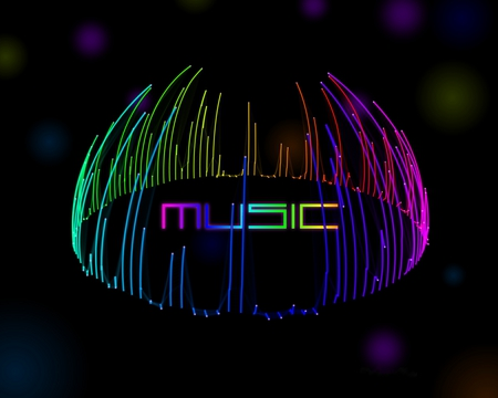 M u s i c music entertainment background wallpapers on for Amazing house music