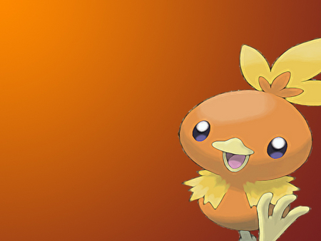 Joyful Torchic - fire, torchic, ruby, sapphire, pokemon, emerald, heat