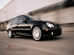 Black 2005 Mercedes-Benz C55 AMG