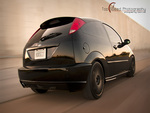 Black 2004 Ford Focus SVT