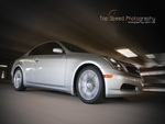 Silver 2006 Infiniti G35 Coupe