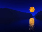 The beautiful Harvest moon