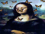 Butterflies and art