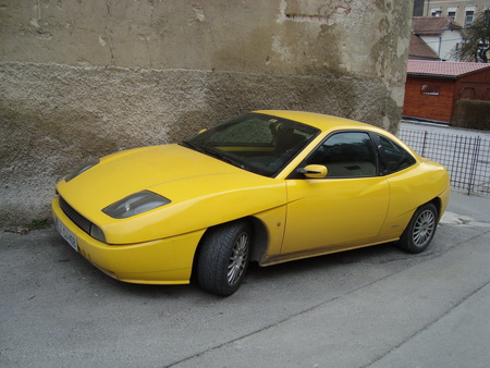 fiat coupe - gallery, coupe, fiat, car
