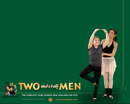 Two And A Half Men Tv Series Entertainment Background