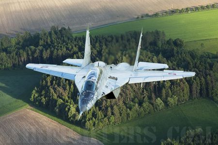 Mig-29 - slovakian air force, aircraft, mig 29, jet fighter