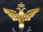 Russian double headed eagle