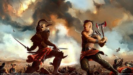 warriors - death, warriors, fight, combact