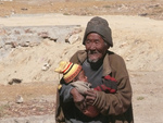 Tibetan Man with Child