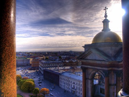 St Petersburg Russia - city, large, buildings, russian, old, soviet union