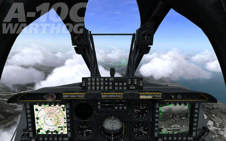 DCS A-10C Warthog Cockpit - Other & Video Games Background
