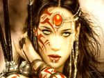 Luis Royo Warrior Woman