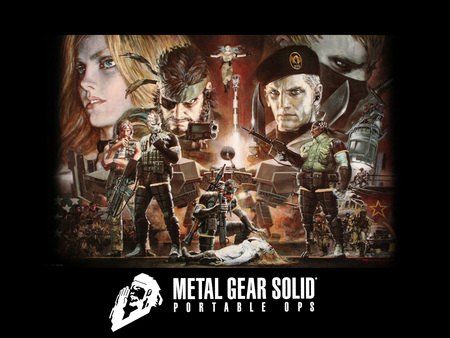 Metal gear solid portable opsx1600