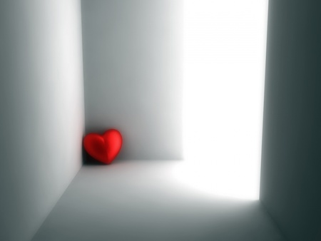 Lonely Heart - alone, heart, love