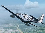 The Twilight Tear P51 D Mustang