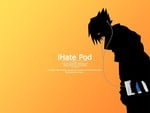 Sasuke With Ipod