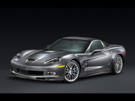 Corvette - sport, speed, corvette, car, chevrolet, grey, racing