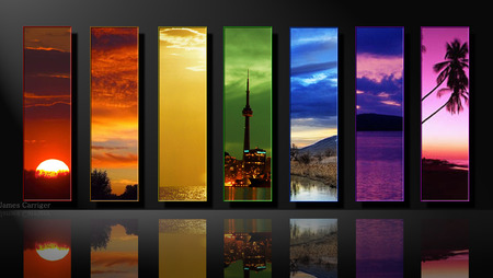 Sunset Spectrum (widescreen)