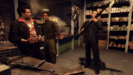 MAFIA 2 - mafia 2, mg42, armory, old