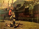 Roman fight-famous painting