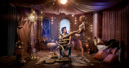 Fantasy Gril - walpaper, ax, fantasy gril, hair, photo, image