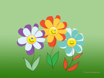 Smiley Flowers