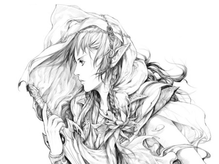 Elf Warrior Other Amp Anime Background Wallpapers On