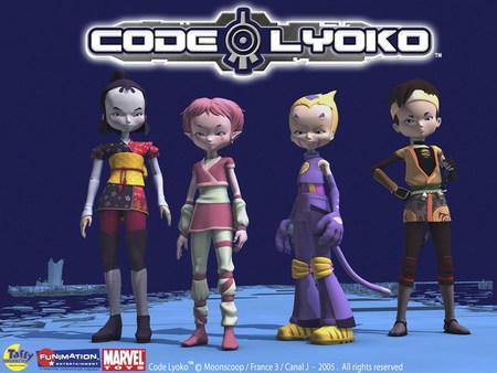 Code Lyoko Team Tv Series Entertainment Background Wallpapers On