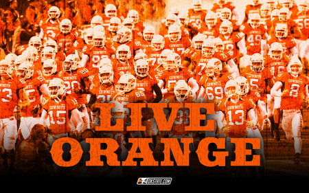 Live Orange - OSU Cowboys - Football & Sports Background ...